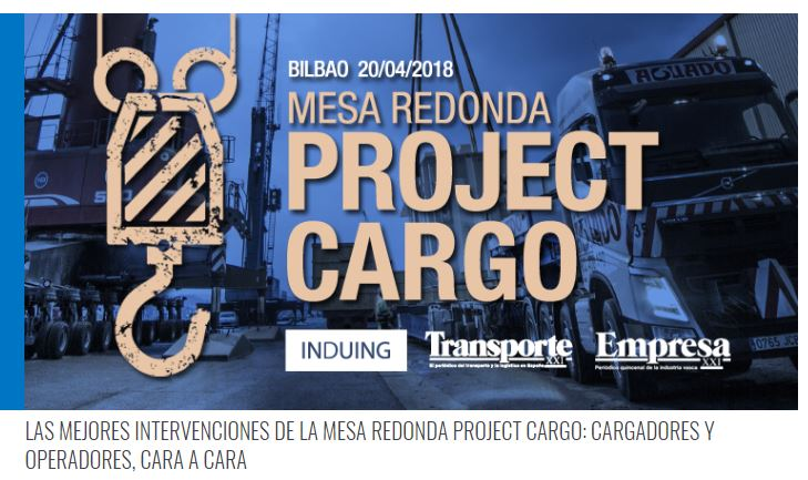 Round Table La Mesa.Round Table Project Cargo At Bilbao Spain With Top Stakeholders Of